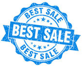 Best sale grunge round blue seal — Stock Photo