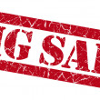 Big sale grunge red stamp — Stock Photo