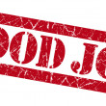 Good job red grunge stamp — Stock Photo #34808083