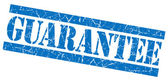 Guarantee blue grunge stamp — Stock Photo