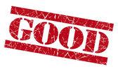 Good grunge red stamp — Стоковое фото