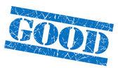 Good grunge blue stamp — Stock Photo