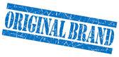 Selo de grunge azul marca original — Fotografia Stock