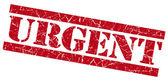 Urgent red grunge stamp — Stock Photo