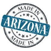 Made in Arizona blue round grunge isolated stamp — Stock Photo