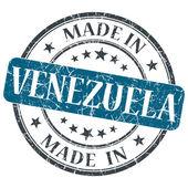 I venezuela blå grunge stämpel isolerad på vit bakgrund — Stockfoto