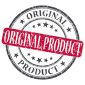 Original Product red grunge round stamp on white background — Stock Photo