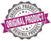 Original product violet grunge retro vintage isolated seal — Foto de Stock