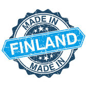 Made in Finland vintage stamp isolated on white background — Stock Vector