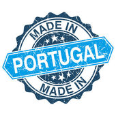 Made in Portugal vintage stamp isolated on white background — Vector de stock