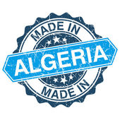 Made in Algeria vintage stamp isolated on white background — Stockvektor