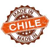 Made in Chile vintage stamp isolated on white background — Vector de stock