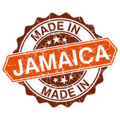 Made in Jamaica vintage stamp isolated on white background — Stockvektor