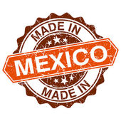 Made in Mexico vintage stamp isolated on white background — Vector de stock