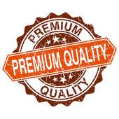 Premium quality grungy stamp isolated on white background — Stockvektor