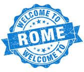 Benvenuti alla tenuta isolata d'epoca di roma blu — Foto Stock