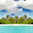 Paradise Island in the ocean — Stock Photo