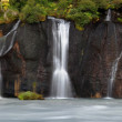 Panoramic view of waterfalls — Stock Photo #31292847
