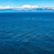 Panoramic view of sea — Stock Photo