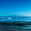 Panoramic view of the sea — Stock Photo