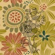 Floral summer seamless pattern — Stock Vector #25014409