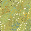 Floral seamless pattern for nice modern wallpapers in stylish colors - Imagen vectorial
