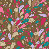Cartoon holiday background. Seamless pattern — Stockvektor