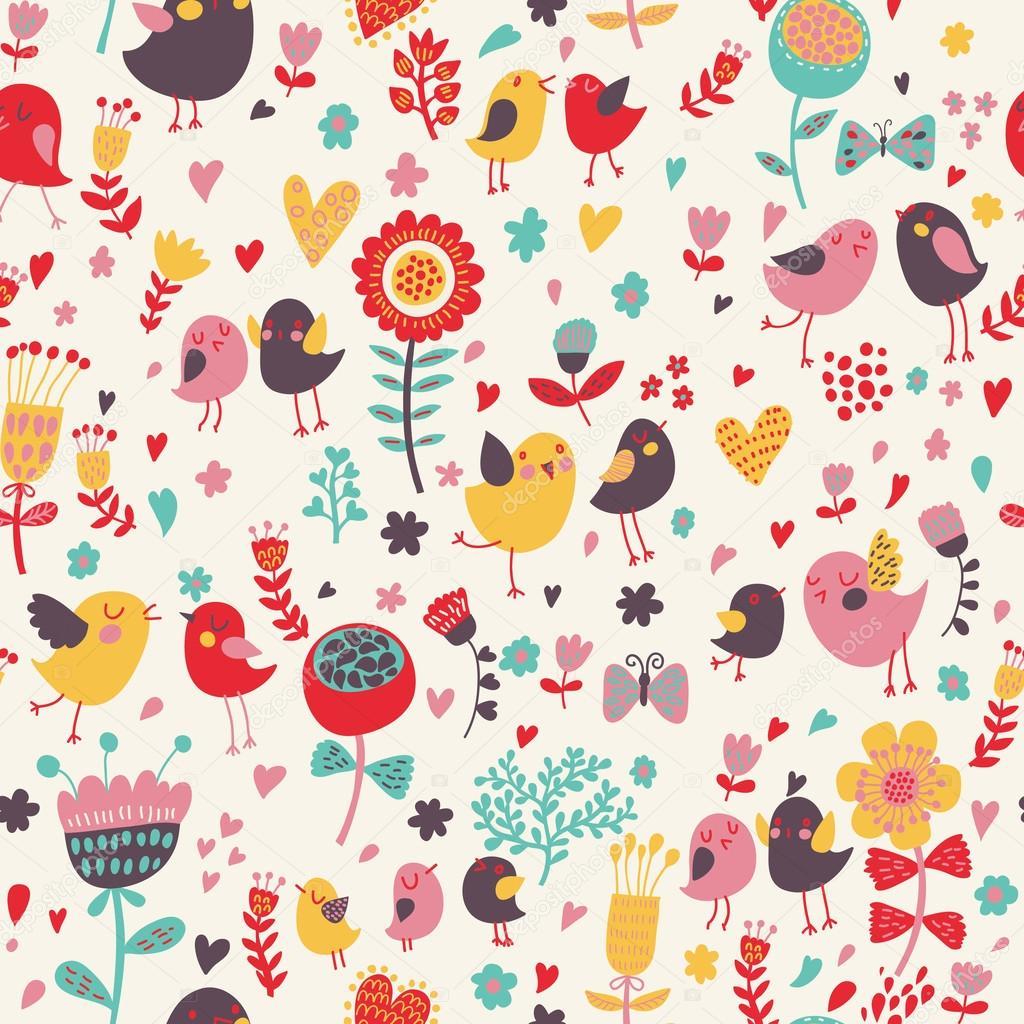 fleurs dessin couleur