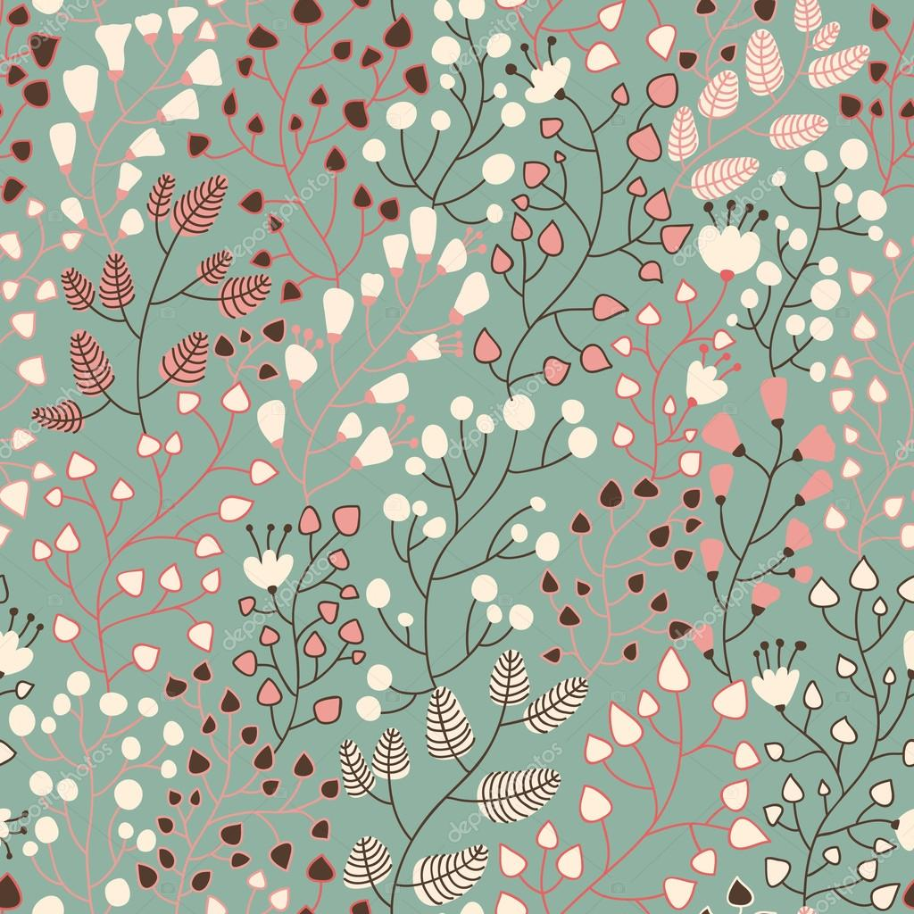 50 Modern Wallpaper Pattern: Floral Seamless Pattern For Nice Modern Wallpapers In