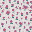 Spring seamless pattern. Light floral background in pastel colors - Stock Vector