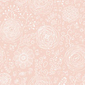 Stylish floral seamless pattern. Ranunculus flowers. Seamless pattern can be used for wallpaper, pattern fills, web backgrounds, surface textures. Gorgeous seamless floral background — Stock Vector