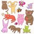 Animals — Vector de stock #25303791