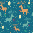 Christmas seamless pattern — Stock Vector #25305325