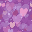 Romantic seamless pattern - Stock vektor