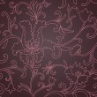 Floral seamless background — Stock vektor
