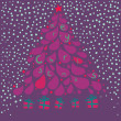 Merry christmas abstract background — Stock Vector