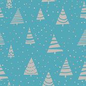 Textura sem costura Natal — Vetor de Stock