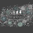 Vector de stock : Abstract Christmas background