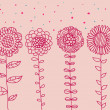 Royalty-Free Stock Vectorielle: Cartoon flowers