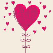 Romantyczny kwiat — Wektor stockowy