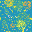 Seamless floral pattern. — Stock Vector #25360647