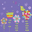 Spring vector illustration — Stock Vector #25360681