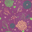Seamless floral pattern. — Stock Vector #25360747