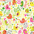 Bright childish seamless pattern in vector. — Stock Vector #44239027