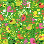 Bright childish seamless pattern in vector. — Stock Vector