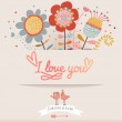 I love you. — Stock Vector #44303029