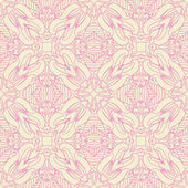 Vintage wallpaper in bright colors — Cтоковый вектор