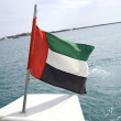 UAE flag — Stock Photo