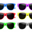 Stock Photo: Sunglasses graphic