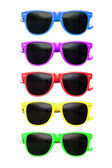 Sunglasses graphic — Stock Photo